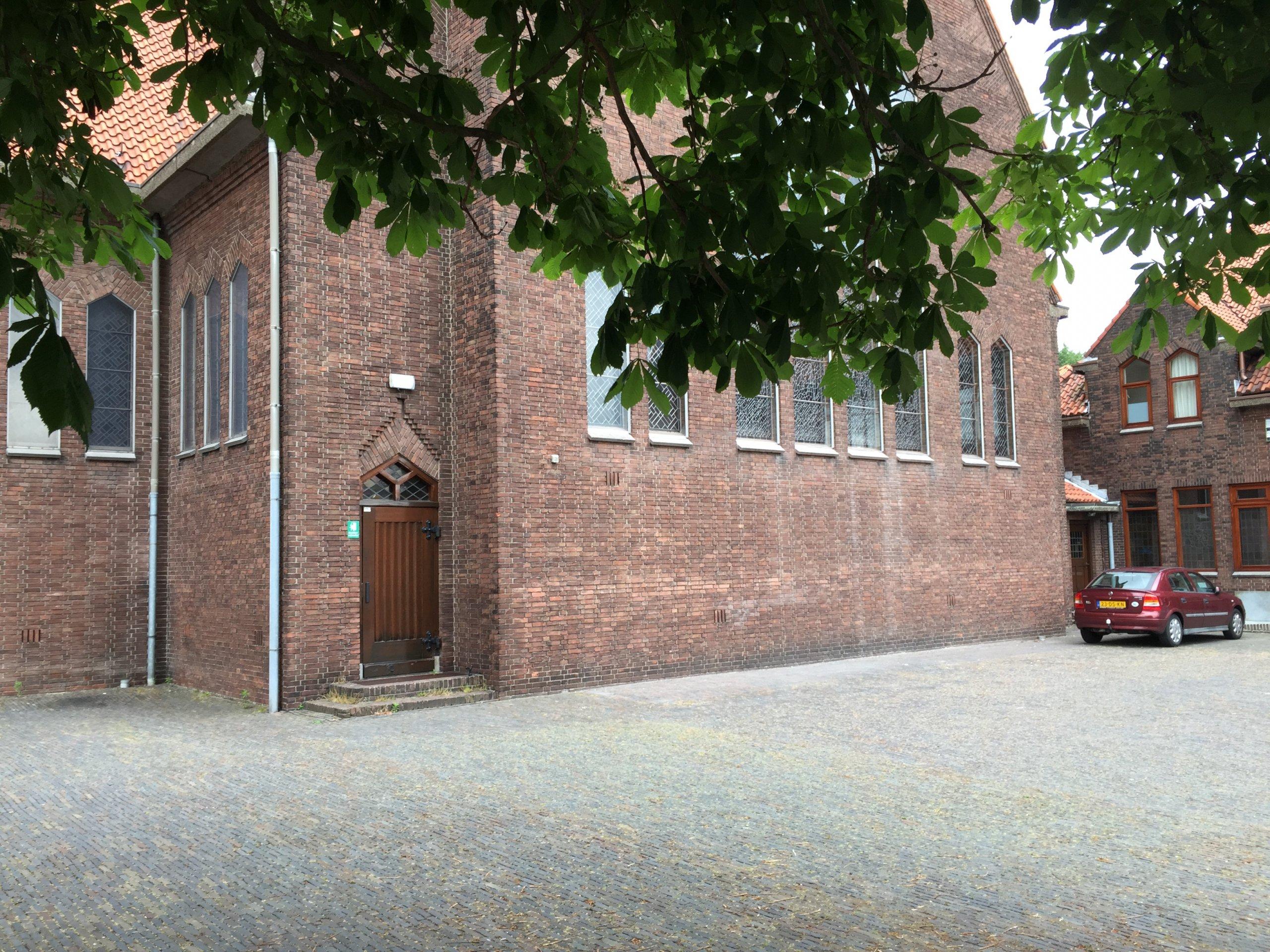Ondergrondse uitbreiding monumentaal kerkgebouw