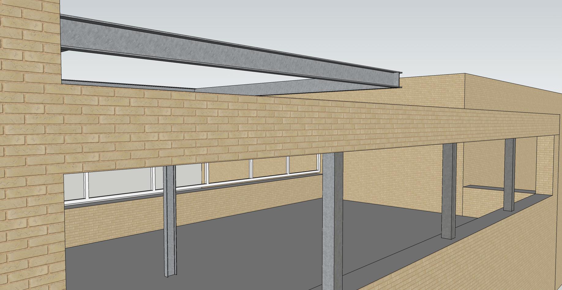 Aanbouw Pergola-constructie woonhuis te Oegstgeest