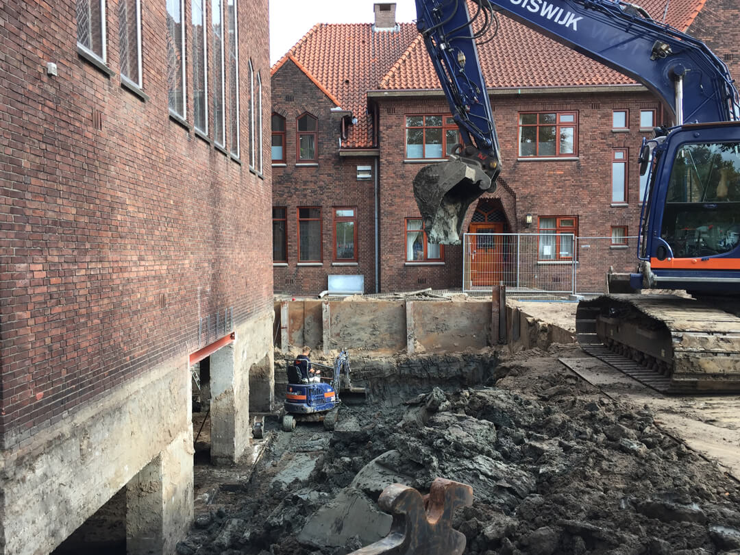 Van start: ondergrondse uitbreiding Gerardus Majellakerk te Utrecht