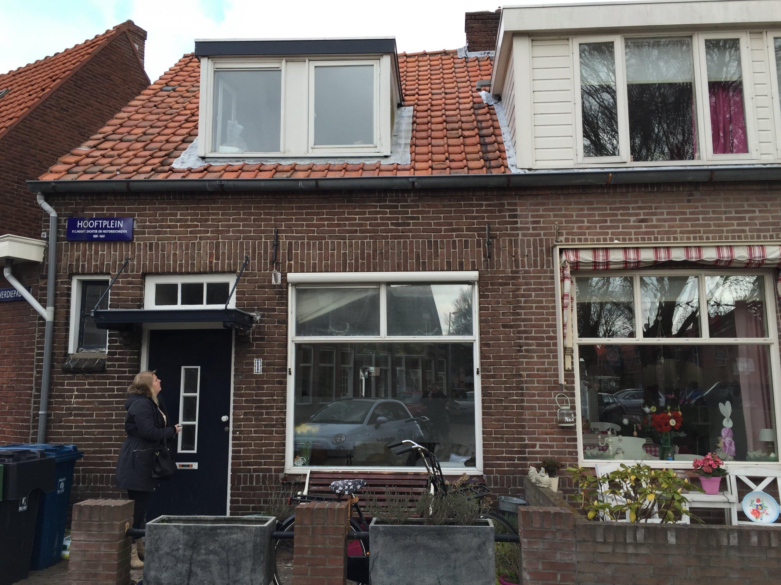 Dakkapel Hooftplein te Alkmaar